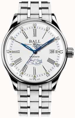 Ball Watch Company Trainmaster endeavor Chronometer limitiertes Armband NM3288D-S2CJ-WH