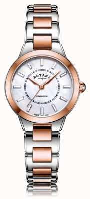 Rotary | Damen Armband aus zweifarbigem Roségold | LB05377/41