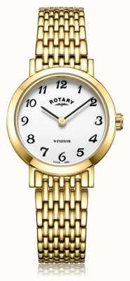 Rotary | Damen vergoldetes Armband | LB05303/18