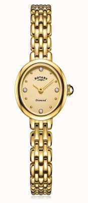 Rotary | Damen vergoldetes Armband | LB05151/03/D