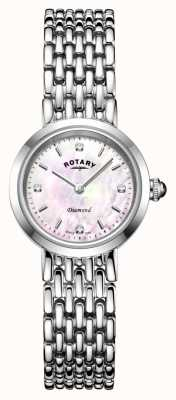 Rotary | Damen Edelstahl Armband | LB00899/07/D