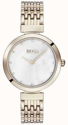 BOSS | Damen hellrosa Gold Metall Armband | 1502480