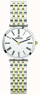 Michel Herbelin | Frauen | epsilon | zweifarbiges, extra flaches Armband | 17116/BT01N