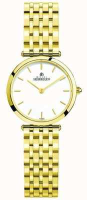 Michel Herbelin Damen-Armbanduhr aus Epsilon-Edelstahl 17116/BP11