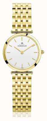 Michel Herbelin | Frauen | epsilon | extra flaches gold pvd armband | 17116/BP11