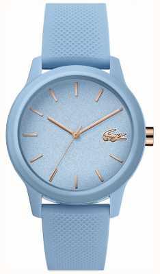 Lacoste | Womens 12-12 | blaues Silikonband | blaues Zifferblatt | 2001066