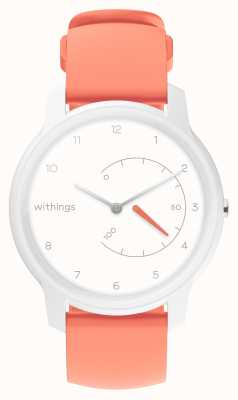 Withings Bewegen Sie den Activity Tracker weiß & korallenrot HWA06-MODEL 5-ALL-INT