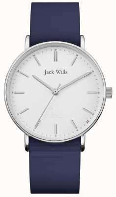 Jack Wills | damen sandhill blau silikonband | JW018WHNV