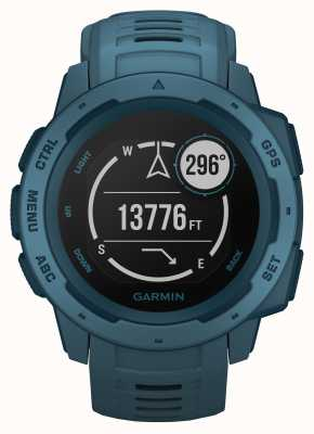 Garmin Instinct Lakeside Blue Outdoor-Armband aus Silikon 010-02064-04