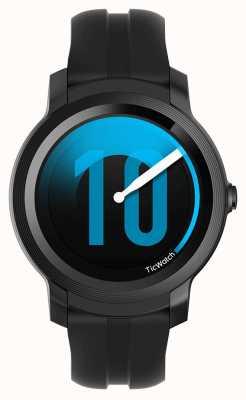 TicWatch E2 | Schatten Smartwatch | schwarzes Silikonband 131586-WG12026-BLK