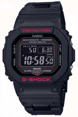 Casio Schwarzes Herren G-Shock Heritage Resin Armband digital GW-B5600HR-1ER