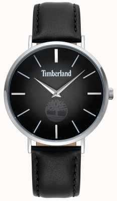 Timberland | Herren Rangeley | schwarzes Lederarmband | schwarzes Zifferblatt | 15514JS/02