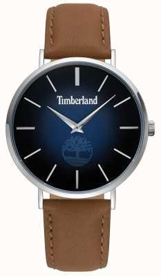 Timberland | Herren Rangeley | braunes Leder | blaues Zifferblatt | 15514JS/03