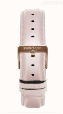 Weird Ape Rosa Leder 16mm Riemen nur Roségold Schnalle ST01-000112