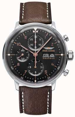 Iron Annie Bauhaus | automatisch | Chronograph | schwarzes Zifferblatt 5018-2