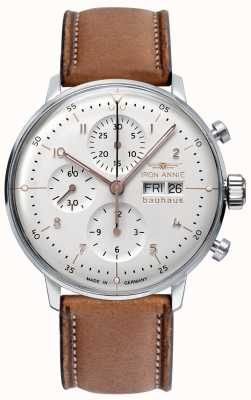 Iron Annie Bauhaus | automatisch | Chronograph | weißes Zifferblatt 5018-4