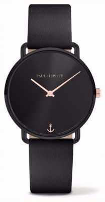 Paul Hewitt | damen vermissen ozean | schwarzes Lederband | PH-M-B-BS-32S