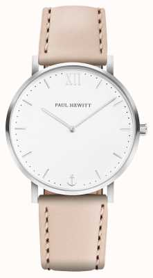 Paul Hewitt | mens sailor line | beige Lederband | PH-SA-R-5M-W-22S