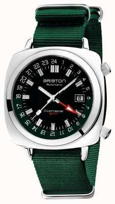 Briston Clubmaster gmt limitierte Auflage | automatisch | grünes natoband 19842.PS.G.10.NBG