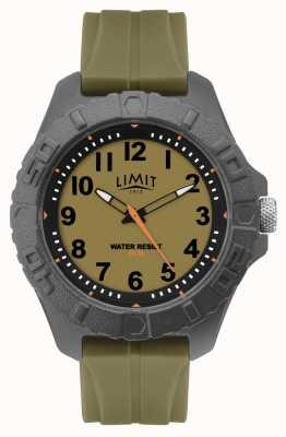 Limit | herren aktives erwachsenes analog | grünes Kautschukband | 5753.01