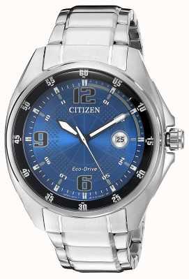 Citizen | Herren Eco-Drive | blaues Zifferblatt | Edelstahlarmband | AW1510-54L