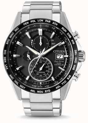 Citizen | Herren Eco-Drive Funkwelle h800 | Titan Armband | AT8154-82E