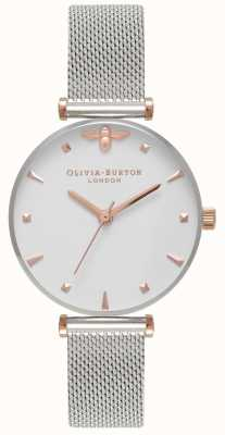 Olivia Burton | Frauen | Bienenkönigin | Edelstahlgewebe Armband | OB16AM140