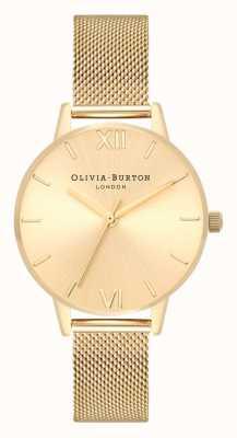 Olivia Burton | Frauen | sunray midi dial | goldgeflecht armband | OB16MD85