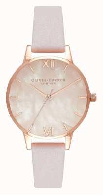 Olivia Burton | Frauen | halb kostbar | Blüte Lederband | OB16SP02