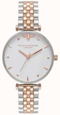Olivia Burton   Frauen   Bienenkönigin   zweifarbiges T-Bar-Armband   OB16AM93