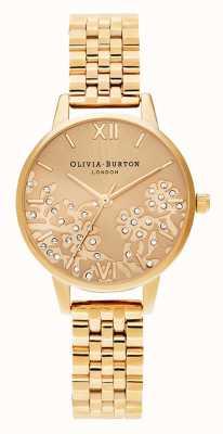 Olivia Burton | Damen | juwelenbesetzte Spitze | goldfarbenes Armband | OB16MV105
