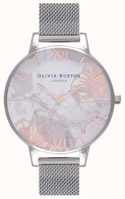 Olivia Burton   Frauen   abstrakte Blumen stahlgeflecht armband   OB16VM20