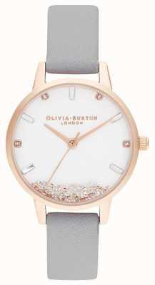 Olivia Burton | Frauen | die Wunschuhr | grauer Gurt | OB16SG08