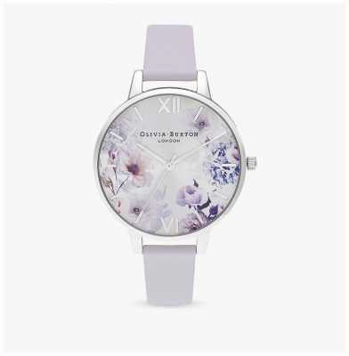 Olivia Burton | Frauen | Sonnenlicht florals | parmaviolettes Lederband | OB16EG137