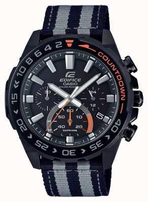 Casio | herren | Gebäude Premium | schwarz graues Armband | beobachten | EFS-S550BL-1AVUEF