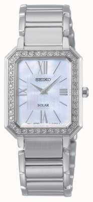 Seiko | konzeptionelle Reihe | klassisch | Solar | zweifarbiges Armband | SUP427P1