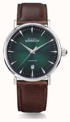 Michel Herbelin | herren | Inspiration | automatisch | grünes Zifferblatt | 1647/AP16BR