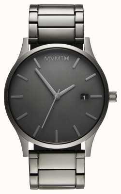 MVMT Klassischer monochromer Link | pvd plated armband | graues Zifferblatt D-MM01-GR