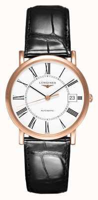 Longines Elegante Kollektion 18 Karat Roségold | Herren 34mm | automatisch L47788110