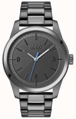 HUGO #create | graues IP-Armband | graues Zifferblatt 1530119