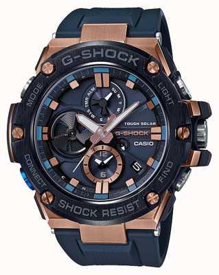 Casio | g-shock | g-stahl | Bluetooth | Chronograph | blau | GST-B100G-2AER