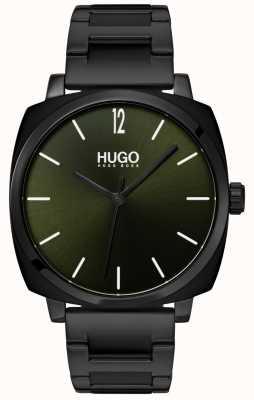 HUGO #own   schwarzes ip armband   schwarzes Zifferblatt 1530081