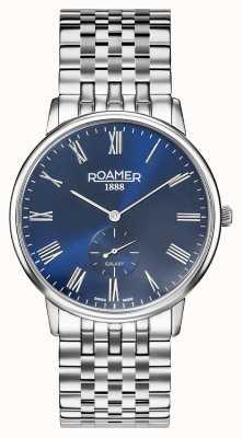 Roamer | Männergalaxie | Edelstahlarmband | blaues Zifferblatt | 620710 41 45 50
