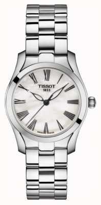 Tissot | T-Wave | Edelstahlarmband für Damen | Perlmutt T1122101111300