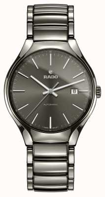 Rado | true automatic | Plasma-Hightech-Keramik | graues Zifferblatt R27057102