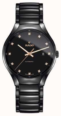 Rado | echte automatische Diamanten Plasma-Hightech-Keramik R27056732