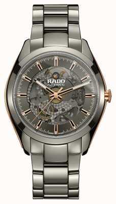Rado Hyperchrome automatische Armbanduhr aus Keramik mit offenem Herzen R32021102