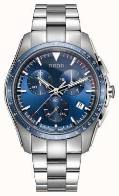 RADO Xxl hyperchrome Chronograph Edelstahl blau Zifferblatt Uhr R32259203
