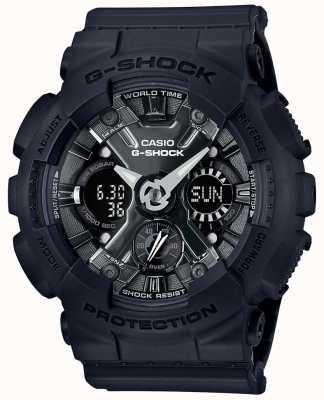 Casio | g-shock | s serie | schwarzes Harz | GMA-S120MF-1AER