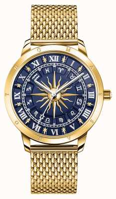 Thomas Sabo | frauen glam spirit astro | blaues Zifferblatt | gold mesh | WA0352-264-209-33